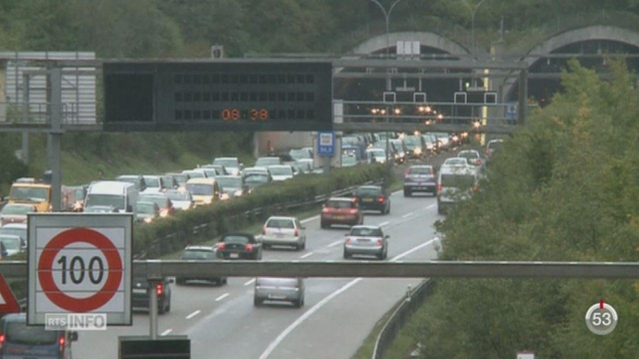 Les opposants au deuxième tube routier du Gothard redoutent son impact sur d'autres chantiers [RTS]