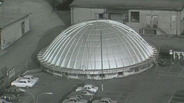 La Coupole à Bienne en 1980. [RTS]