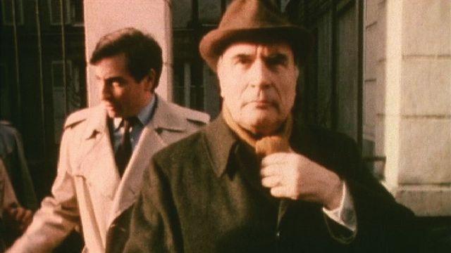 François Mitterrand en campagne, 1981. [RTS]