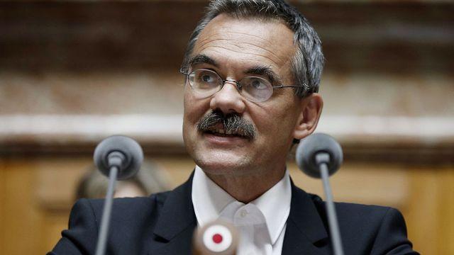 Jean-François Steiert, conseiller national socialiste fribourgeois et vice-président de la Fédération suisse des patients. [Pater Klaunzer - Keystone]
