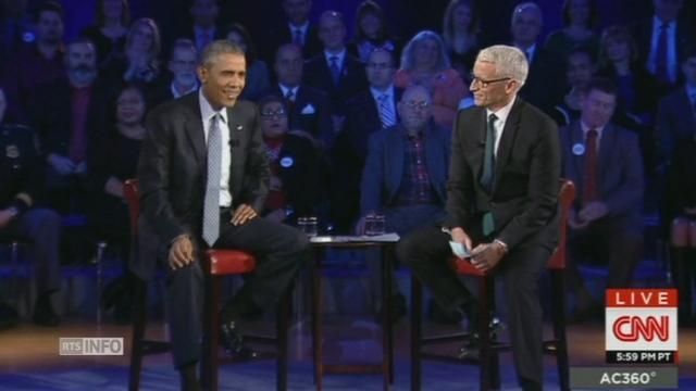 Barack Obama ironise sur l'existence d'un complot [RTS]