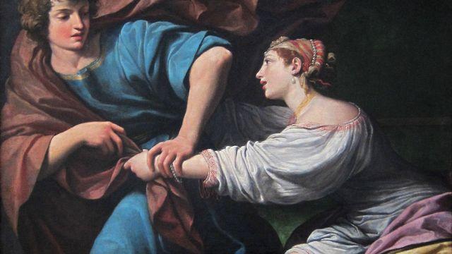 """""""Joseph et la Femme de Putiphar"""", oeuvre de Lionello Spada. [D.P.]"""