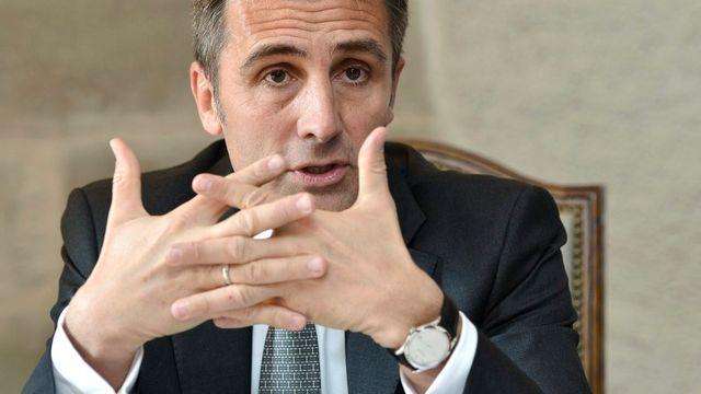 Le président du gouvernement genevois François Longchamp. [Martial Trezzini - Keystone]