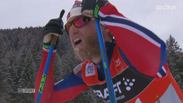 Tour de ski - 10km messieurs : Martin Johnsrud SUNDBY [RTS]