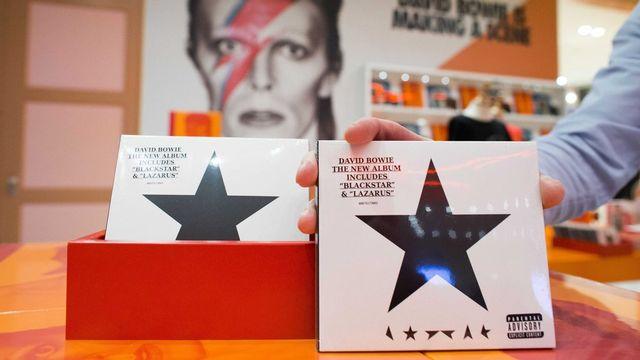 Le nouvel album de David Bowie. [EPA/Vincent Janninck illustration - key]