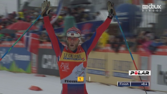 15km messieurs : nouvelle victoire de Martin Johnsrud Sundby (NOR) ; Dario Cologna (SUI) termine à la 40e place ! [RTS]
