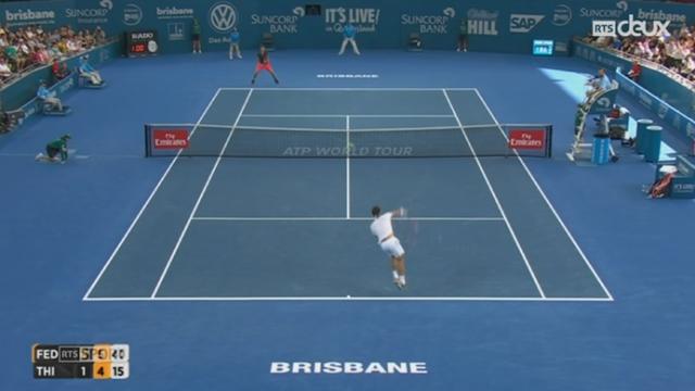 Tennis: Wawrinka et Federer commencent bien l'année [RTS]