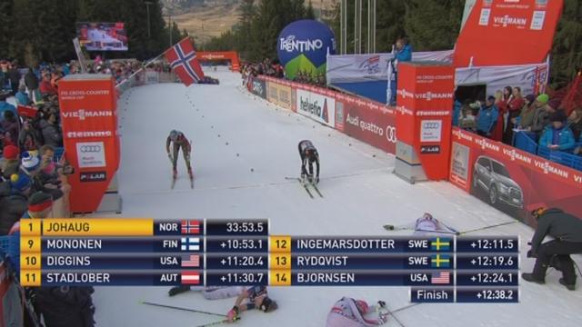 9 km poursuite dames: Nathalie Vno Siebenthal (SUI) termine à une très belle 15e place et 7e meilleur temps du 9km! [RTS]