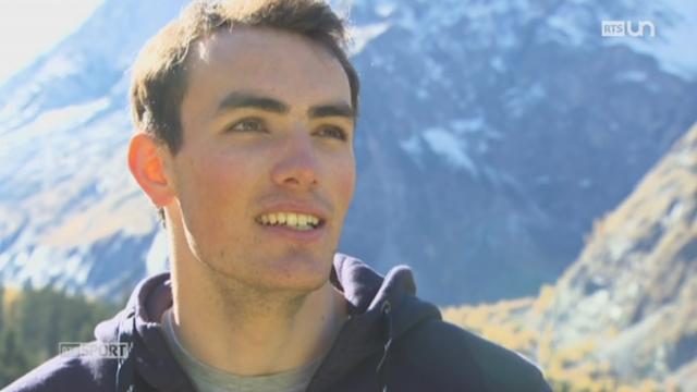 Ski: le Valaisan Daniel Yule se promet à un grand avenir [RTS]