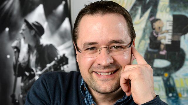 Le directeur du Montreux Jazz Festival, Mathieu Jaton. [Laurent Gilliéron - Keystone]