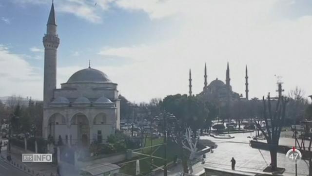 Turquie: une explosion a fait au moins dix morts et 15 blessés à Istanbul [RTS]