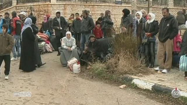 Syrie: un convoi d'aide humanitaire est entré dans la ville syrienne de Madaya [RTS]