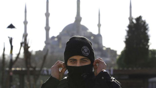 L'attentat a été commis dans le quartier très touristique de Sultanahmet. [Lefteris Pitarakis - AP/Keystone]