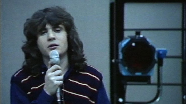 Daniel Balavoine en 1978. [RTS]