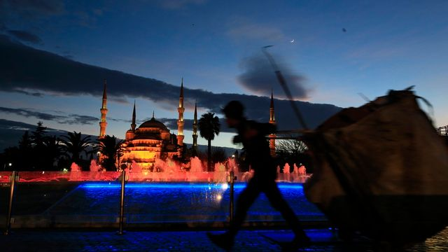 La Mosquée bleue dans le quartier de Sultanahmed à Istanbul. [Lefteris Pitarakis - AP Photo/Keystone]