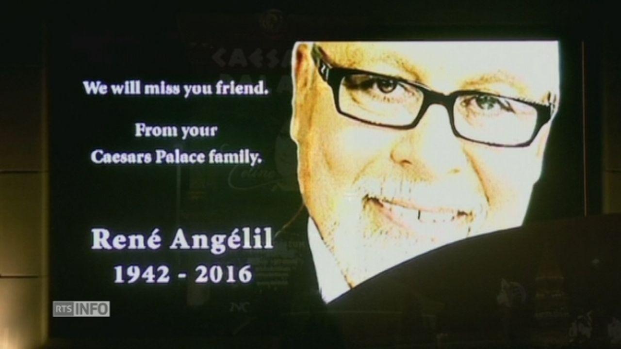 Las Vegas rend hommage à René Angélil [RTS]