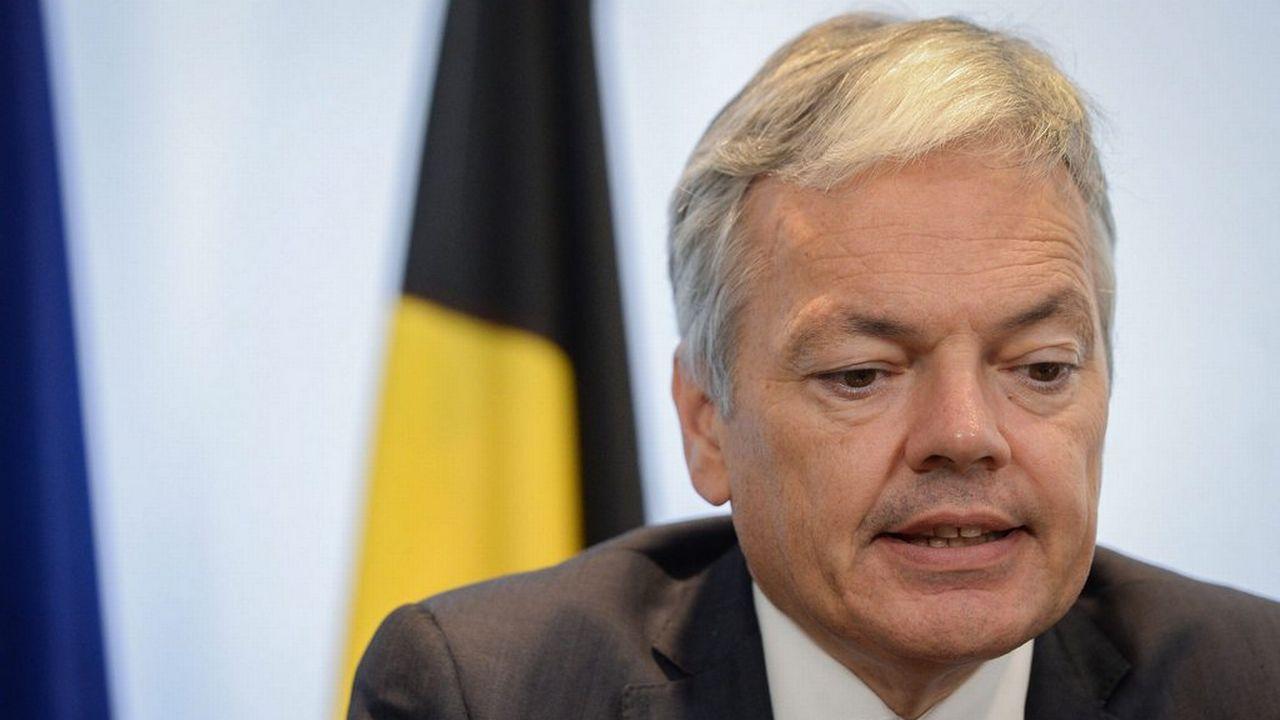 Didier Reynders, ministre belge des Affaires étrangères. [Stéphanie Lecoq - EPA - Keystone]