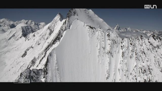 Ski freeride: Jérémie Heitz pratique le ski de pente raide [RTS]