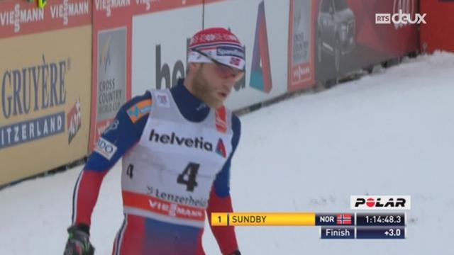 Tour de Ski: le Norvégien Martin Sundby termine premier du 30km classique [RTS]