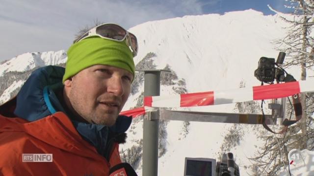 VS: des chercheurs récoltent des données pour affiner les cartes de danger d'avalanche [RTS]