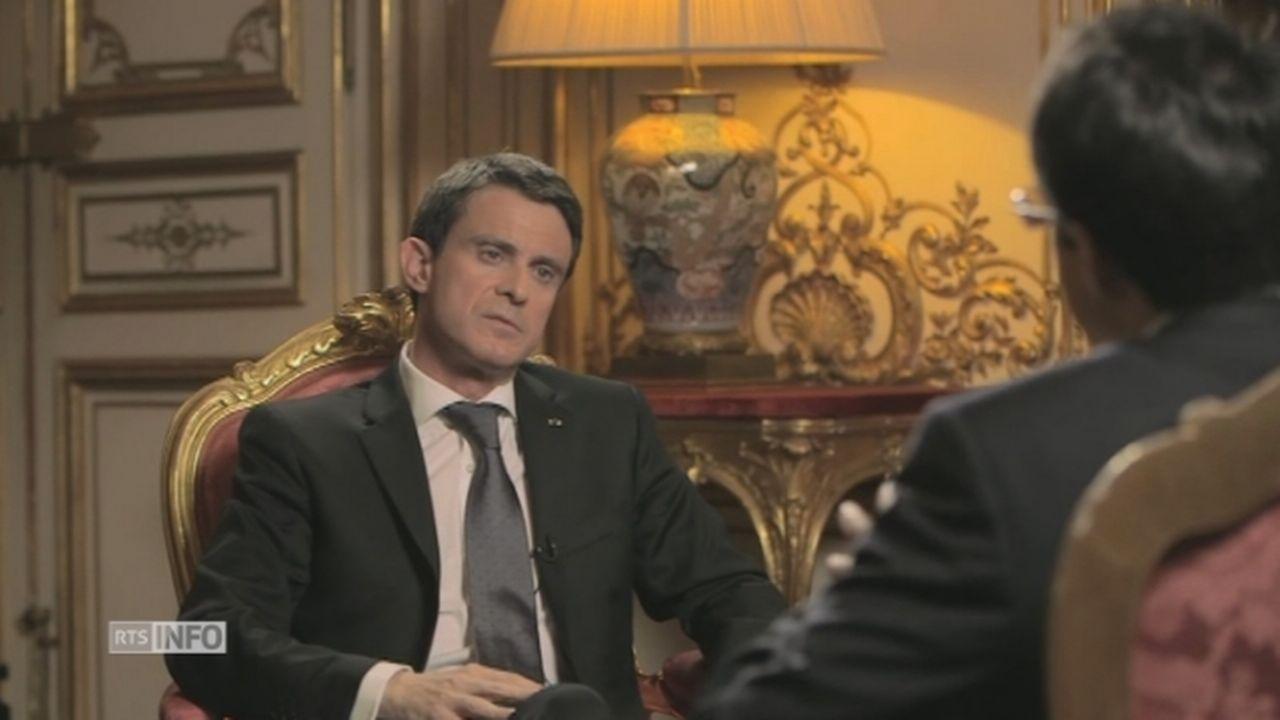 Manuel Valls, un homme de droite? [RTS]