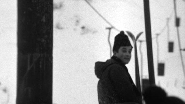 Remontées mécaniques de Moléson, 1968. [RTS]