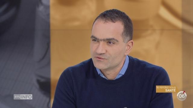 Le rendez-vous santé: le Dr Alessandro Diana évoque la vaccination [RTS]