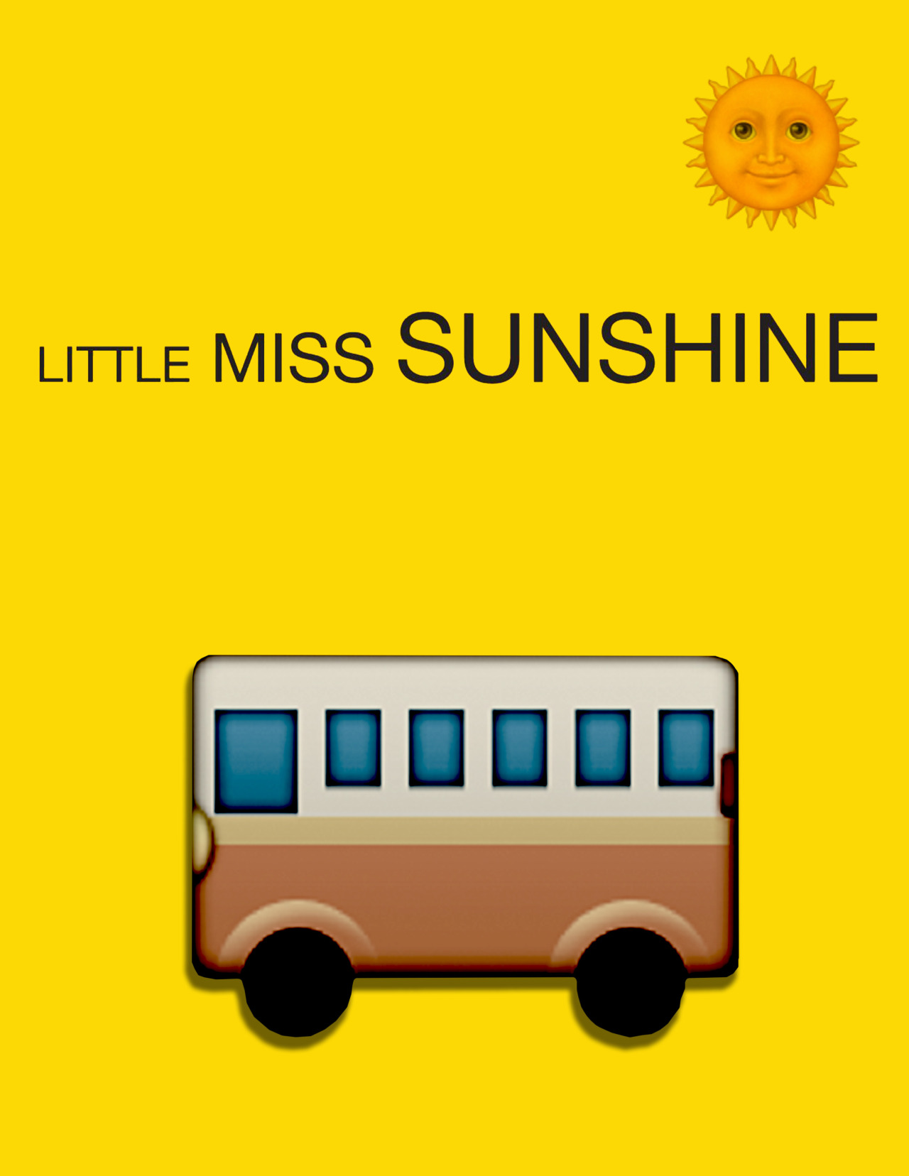 "L'emoji pour le film ""Little Miss Sunshine""."