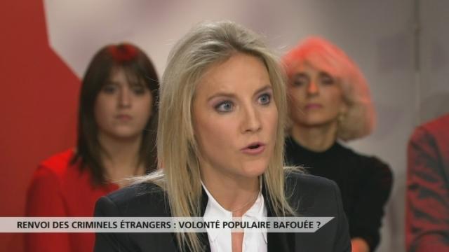 """Céline Amaudruz: """"Quand vous êtes une victime, il n'y a pas de délits mineurs."""" [RTS]"""