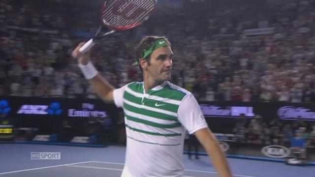 3e tour, Roger Federer (SUI) - Grigor Dimitrov (BUL) (6-4, 3-6, 6-1, 6-4): Roger passe en 8e [RTS]