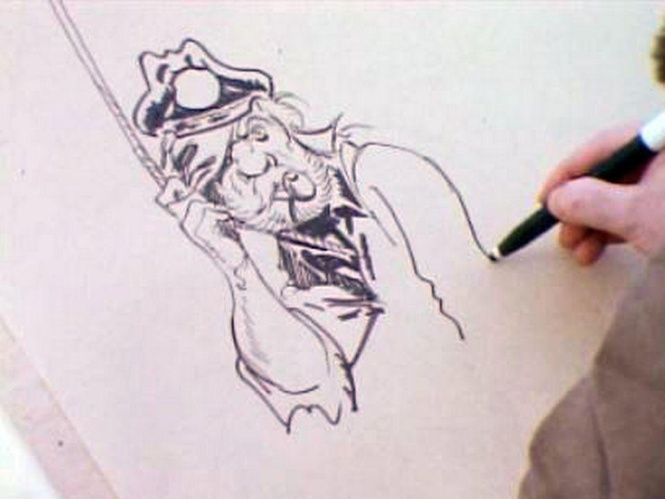 Herman dessine Jordan [RTS]