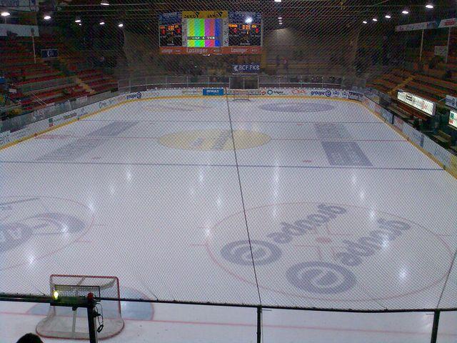 La BCF Arena de Fribourg. [Stynn - Wikimédia]