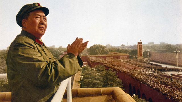 Mao Zedong, homme d'Etat chinois (1893-1976). [Roger-Viollet /AFP]