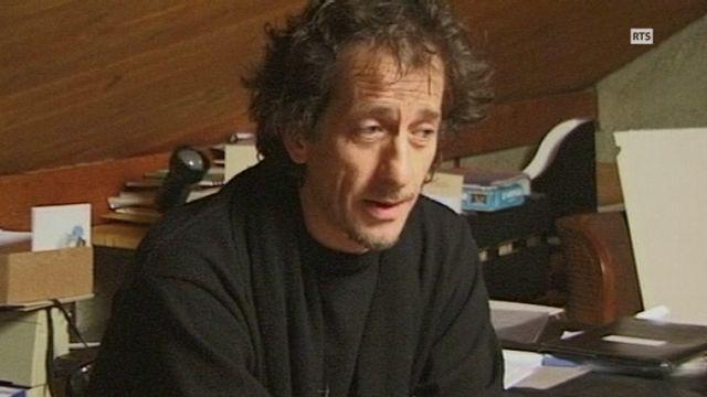 Alain Gillieron, 2002. [RTS]
