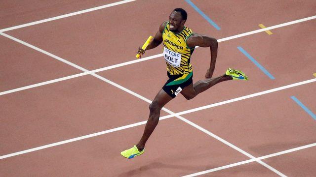Bolt était censé couper sa foulée après les Mondiaux de Londres en 2017. [Wong Maye-E - Keystone]