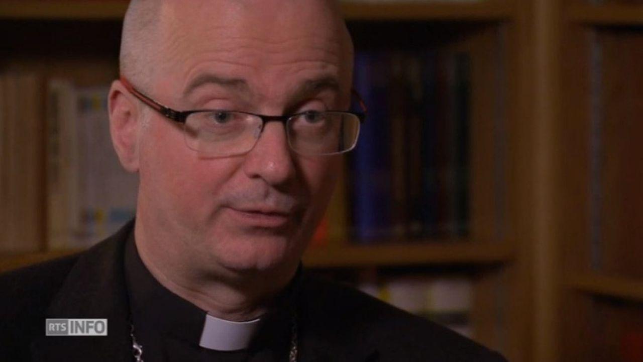 """Mgr Charles Morerod: """"A l'institut Marini, il y avait un groupe de sadiques, pervers et pédophiles"""" [RTS]"""