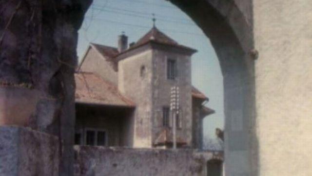 Le village genevois de Cartigny en 1971. [RTS]