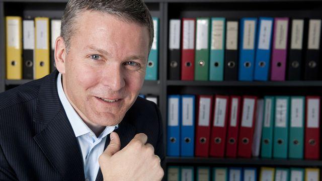Mathieu Fleury, secrétaire général de la FRC. [Laurent Gilliéron - Keystone]