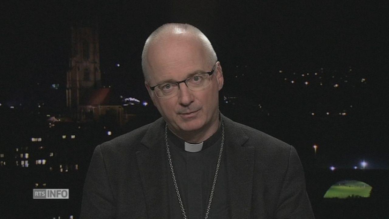 """Mgr Morerod: """"L'Eglise catholique avait trop de pouvoir"""" [RTS]"""