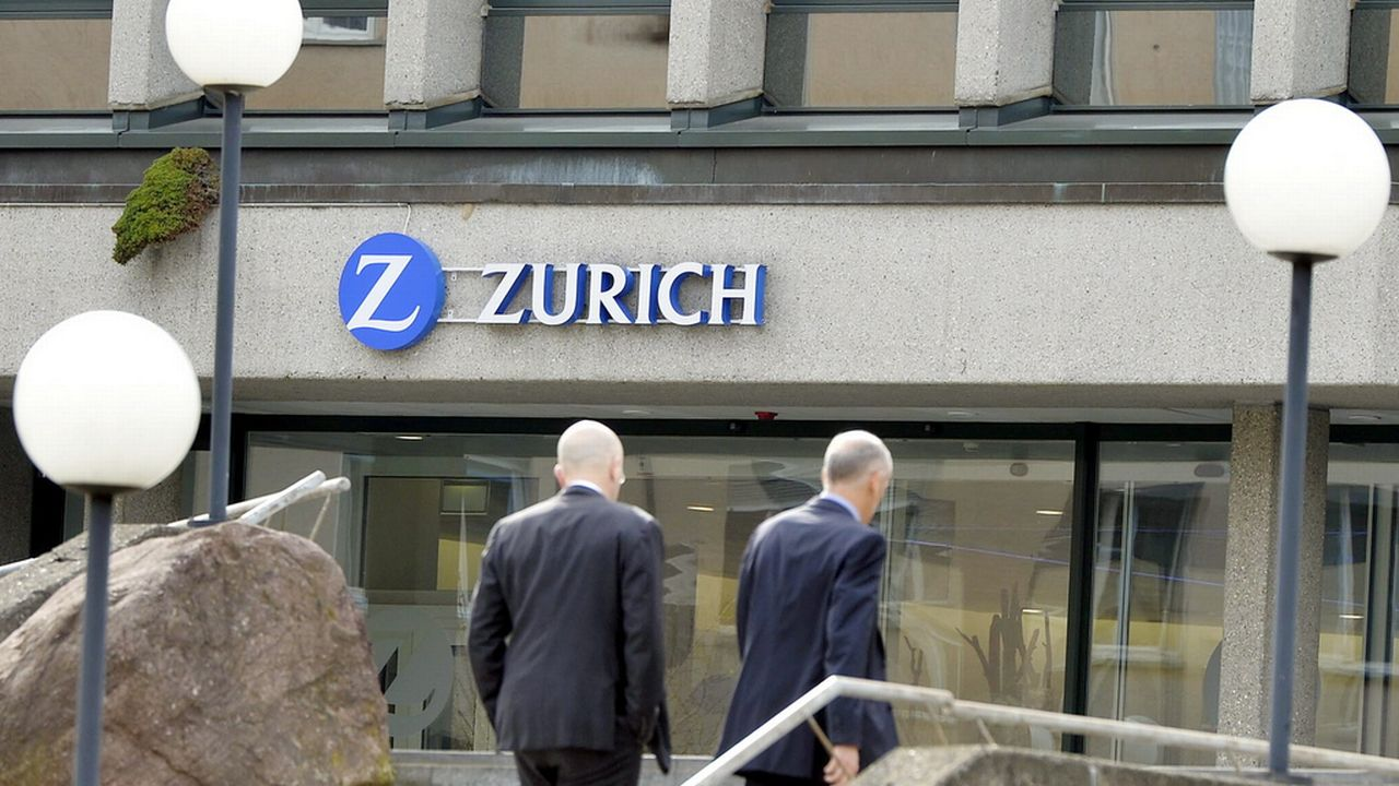Le siège de l'assureur à Zurich. [Walter Bieri - Keystone]