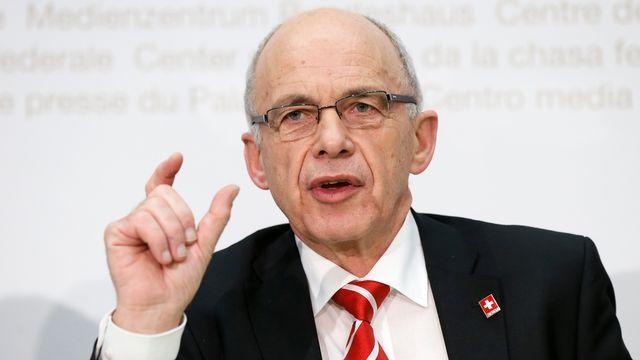 Le nouveau ministre des Finances Ueli Maurer. [Peter Klaunzer - Keystone]
