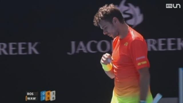Tennis - Open d'Australie: Stan Wawrinka entame un bon début de tournoi [RTS]