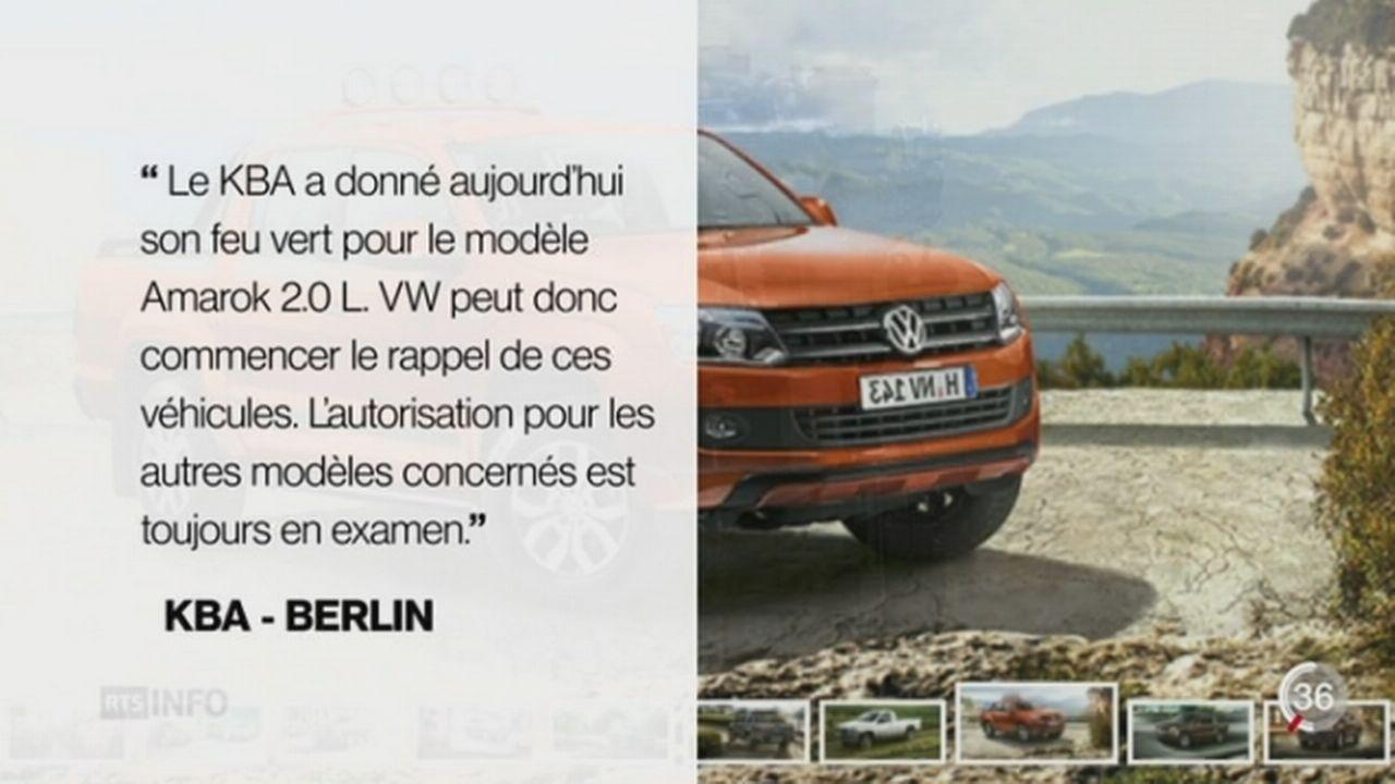 Scandale Volkswagen: l'importateur suisse AMAG promet des mesures validées par les autorités [RTS]