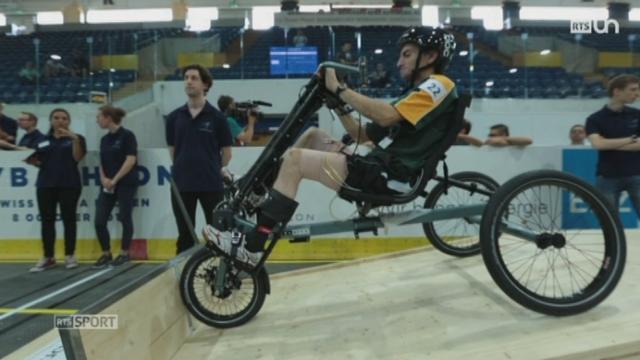 Le Mag: le cybathlon est un championnat pour des athlètes en situation de handicap [RTS]