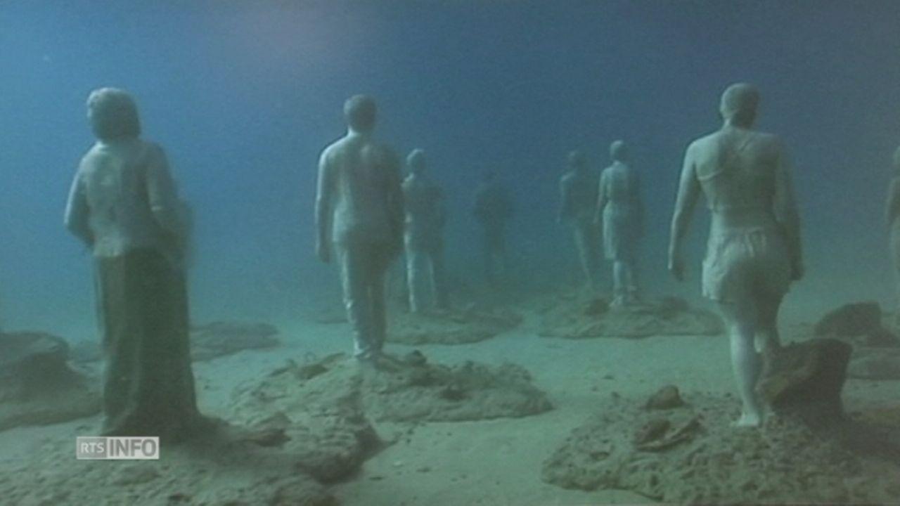 Le premier musée sous-marin en Europe prend forme à Lanzarote [RTS]