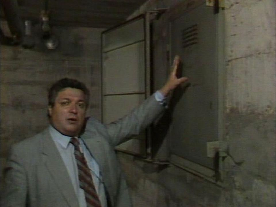 A bon entendeur teste la fiabilité des abris antiatomiques, 1987. [RTS]