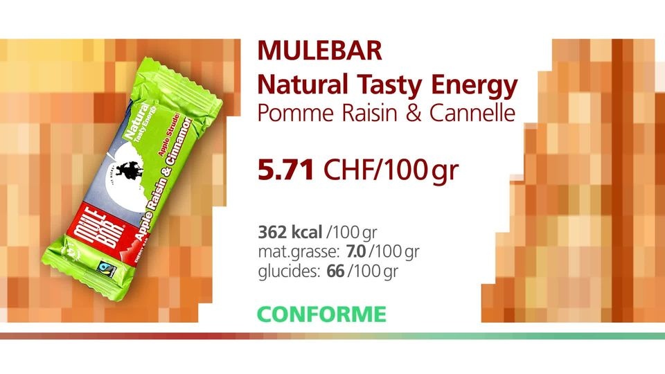 MuleBar Natural Tasty Energy. [RTS]