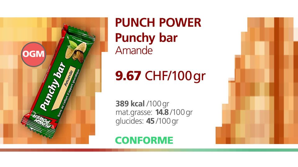 "La Punch Power ""Punchy bar Amande"". [RTS]"