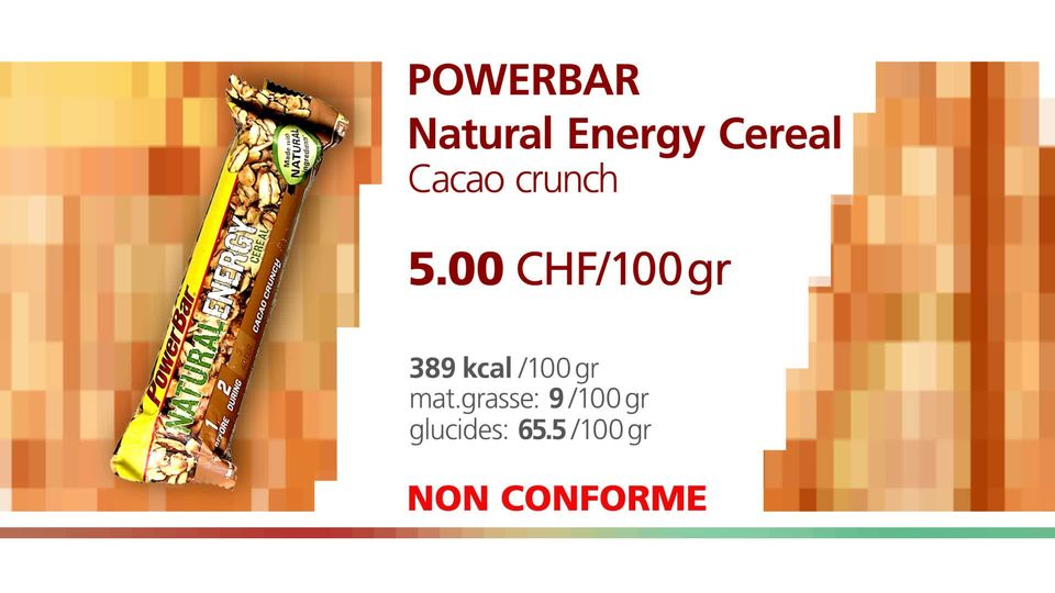 PowerBar Natural Energy Cereal Cacao crunch. [RTS]