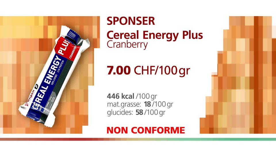 "Sponser ""Cereal Energy Plus Cranberry"". [RTS]"